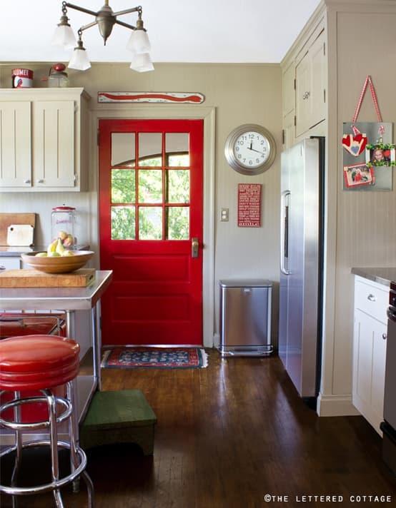 Paint your Back Door Red