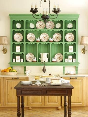 Green china hutch