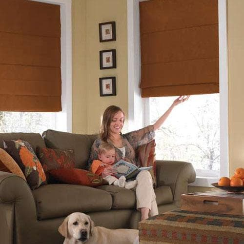 Blinds.com Brand Fabric Roman Shades