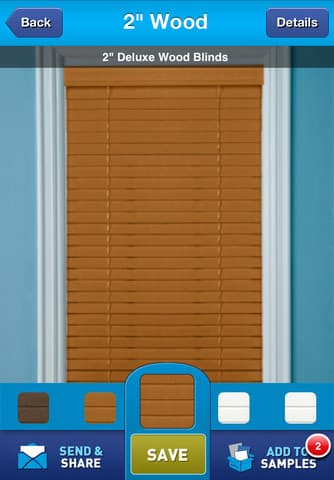 Try on blinds with the window shopper app!