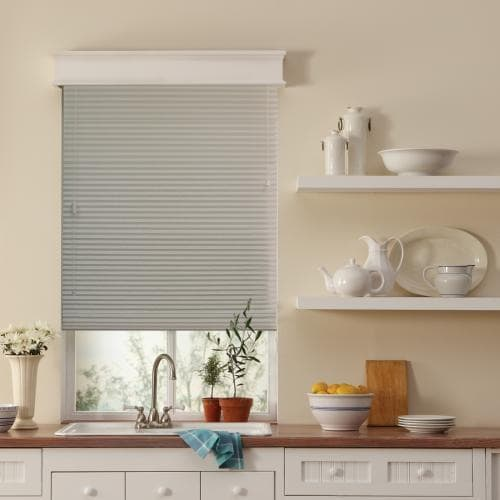 "Blinds.com Brand 1/2"" Single Cell Light Filtering Shades"