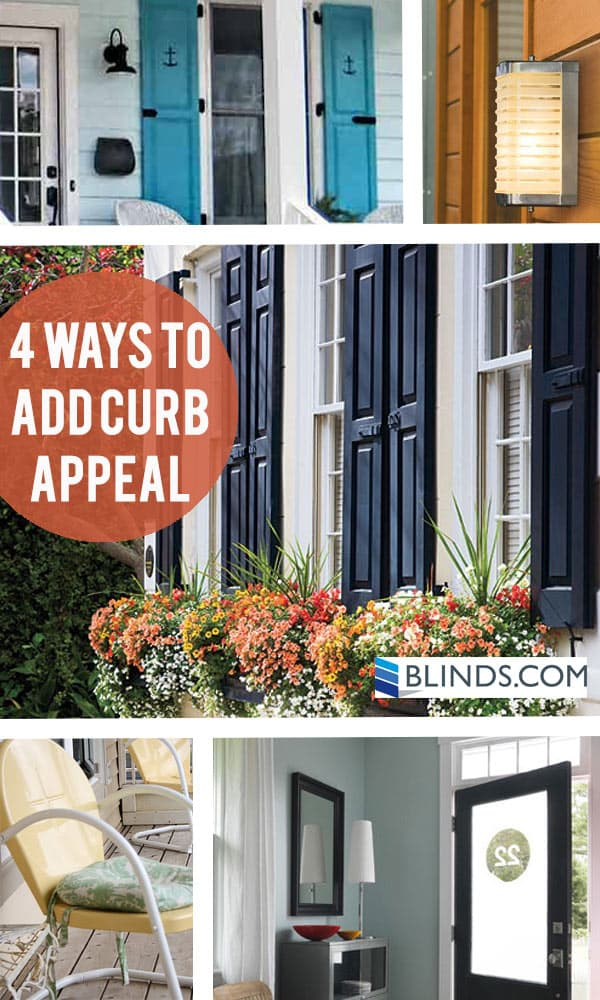 4 ways to add curb appeal