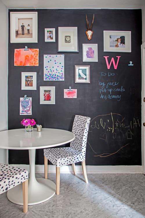 a magnetic chalkboard - Chalkboard Decor