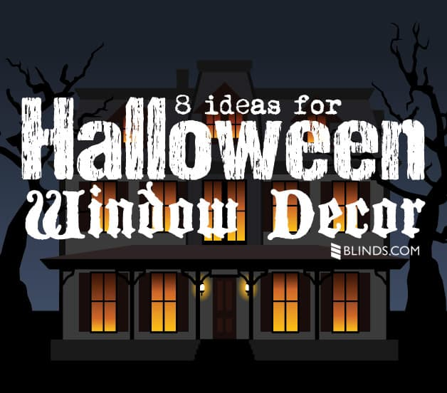 8 ideas for halloween window decor - Halloween Window Decor