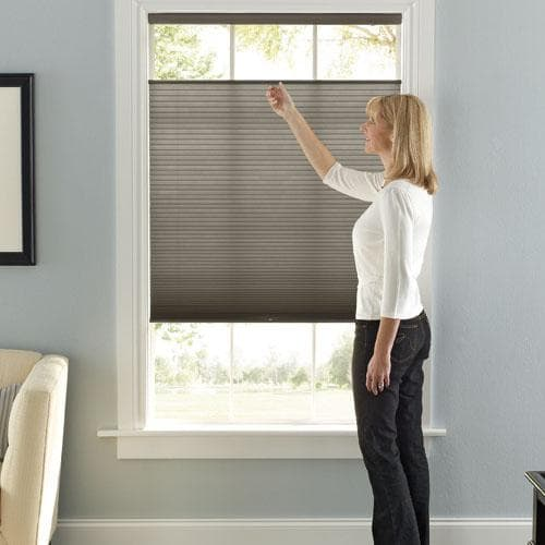 Levolor Accordia Shades with Cordless Top-Down/Bottom-Up Lift