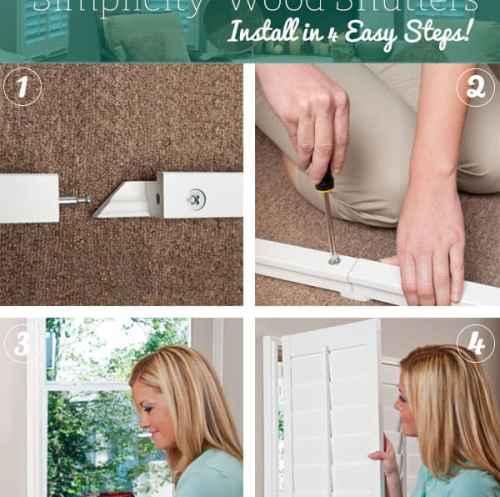 Simplicity Wood Shutter