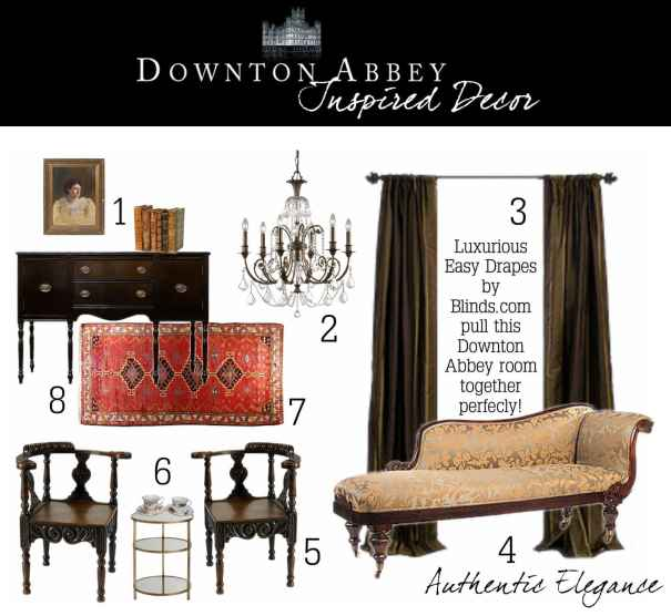 Downton Abbey Inspired Decor