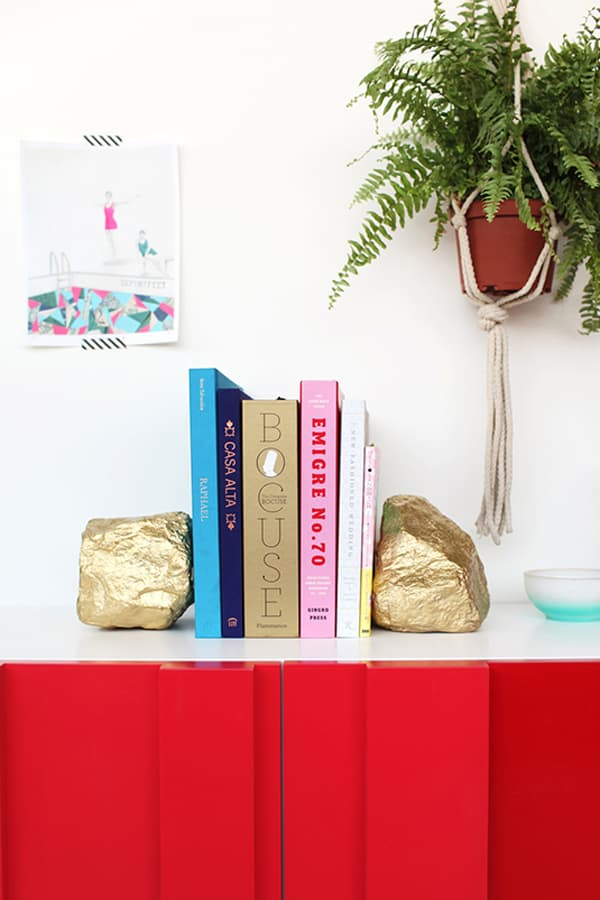 Gold Rock Bookends