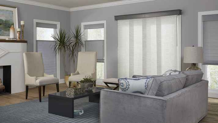sliding panel blinds patio door - Blinds For Patio Doors