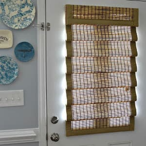 door blinds window wovenwoodshadesforfrontdoor 10 things you must know when buying blinds for doors the finishing