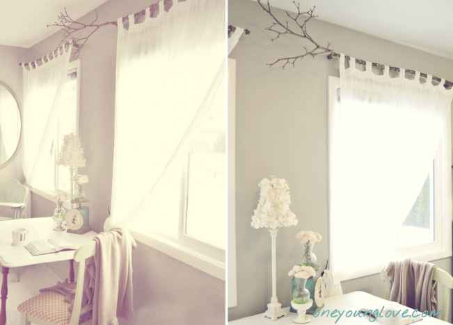 Tree Branch Curtain Rods