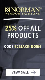 Black Friday Norman Blinds Sale