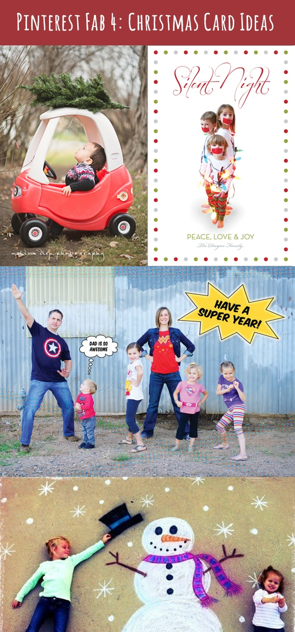 Pinterest Fab 4: Family Christmas Cards - The Finishing Touch