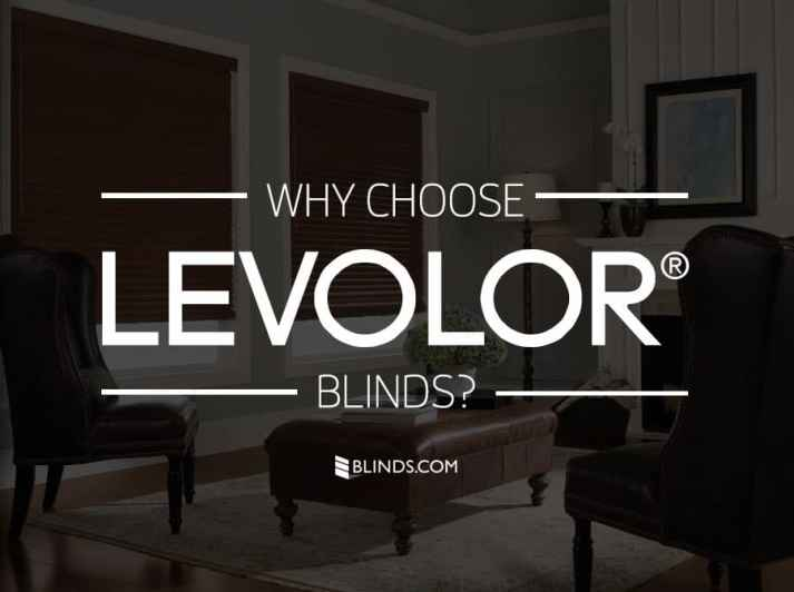 Why Choose Levolor Blinds - Blinds.com
