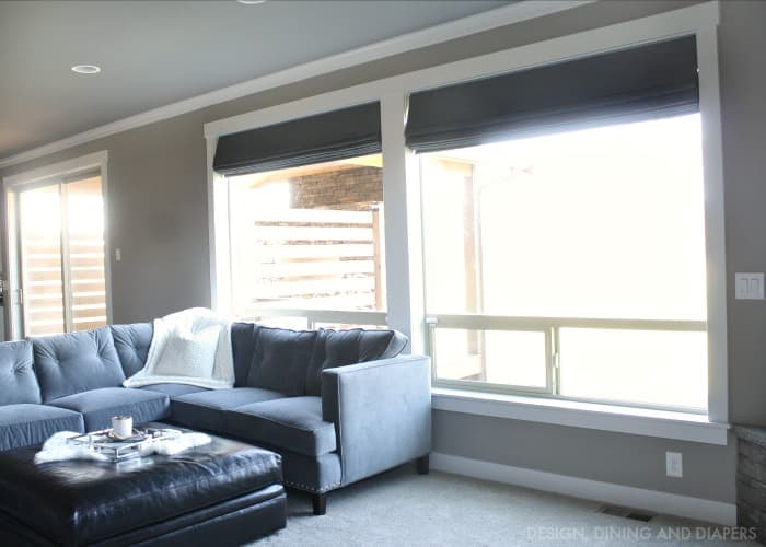 Norman Roman Shades Design Dining and Diapers