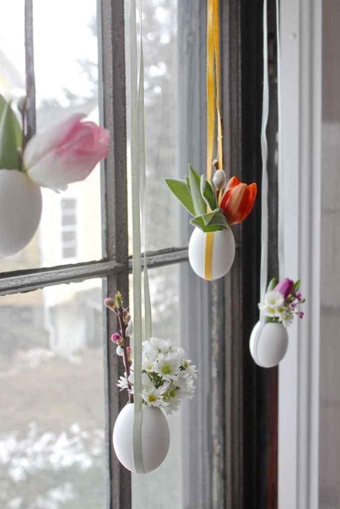 Easter Egg Vases