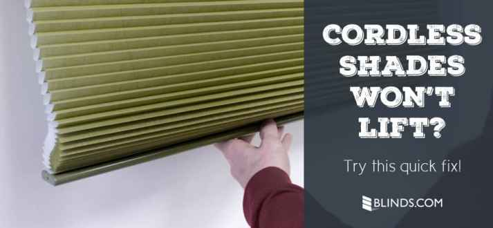 Customer Service Faq My Cordless Cellular Shades Aren T