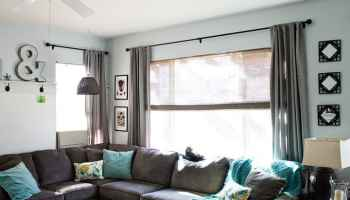 How to Add Texture to an Eclectic Living Room with Woven Wood ...
