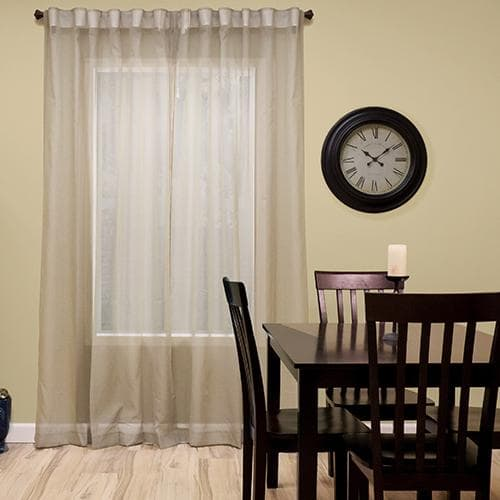 In Addition To The Layered Drapes, Johnson Has Blackout Roller Shades  Underneath For Complete Privacy When Needed. If You Have Presidential  Secrets To ...