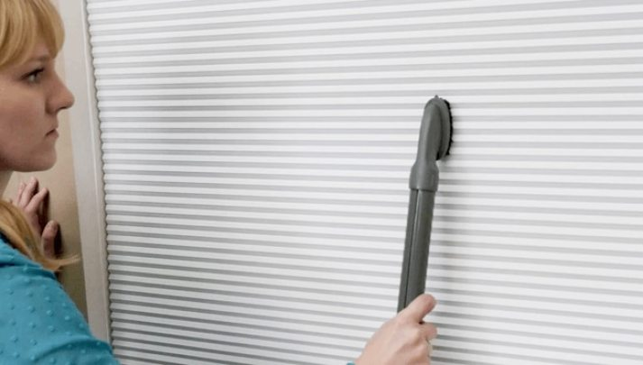 dust cell shades with vacuum