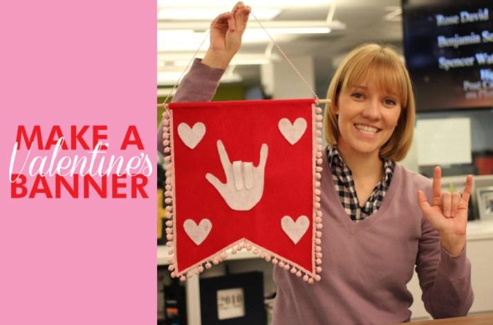 sign language valentine's day sign
