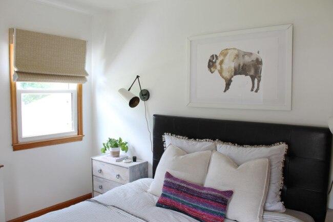 Matchstick Blinds Bedroom