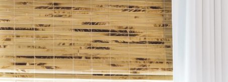 Blinds.com Woven Wood Shades in Antigua Natural