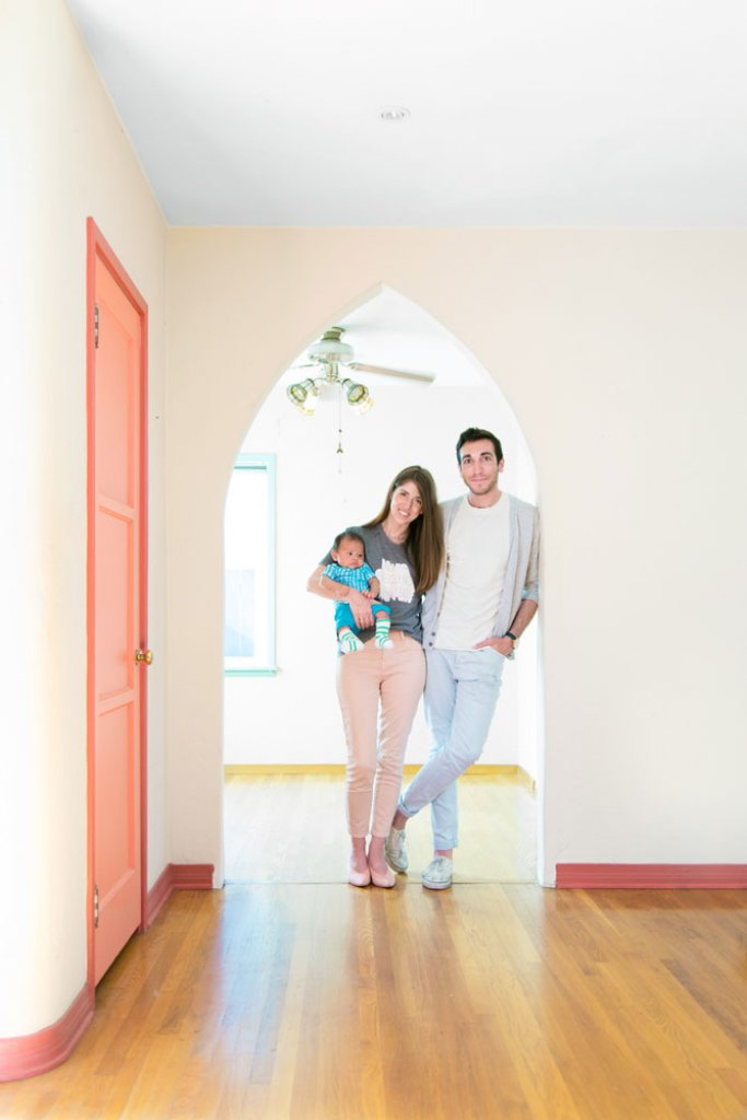 Kelly and Jeff Mindell of Studio DIY in house before renovation