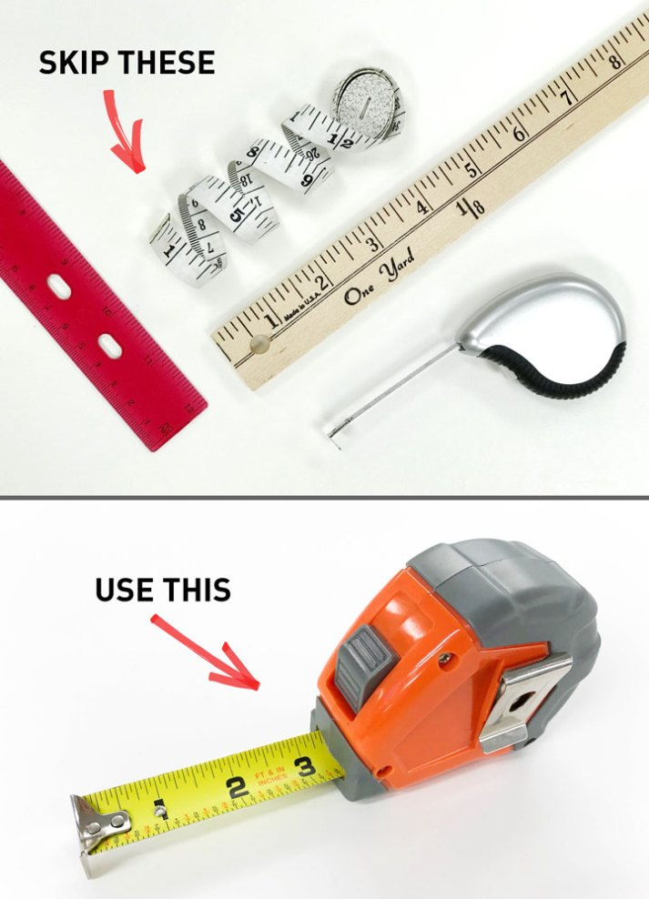 what to use for measuring windows