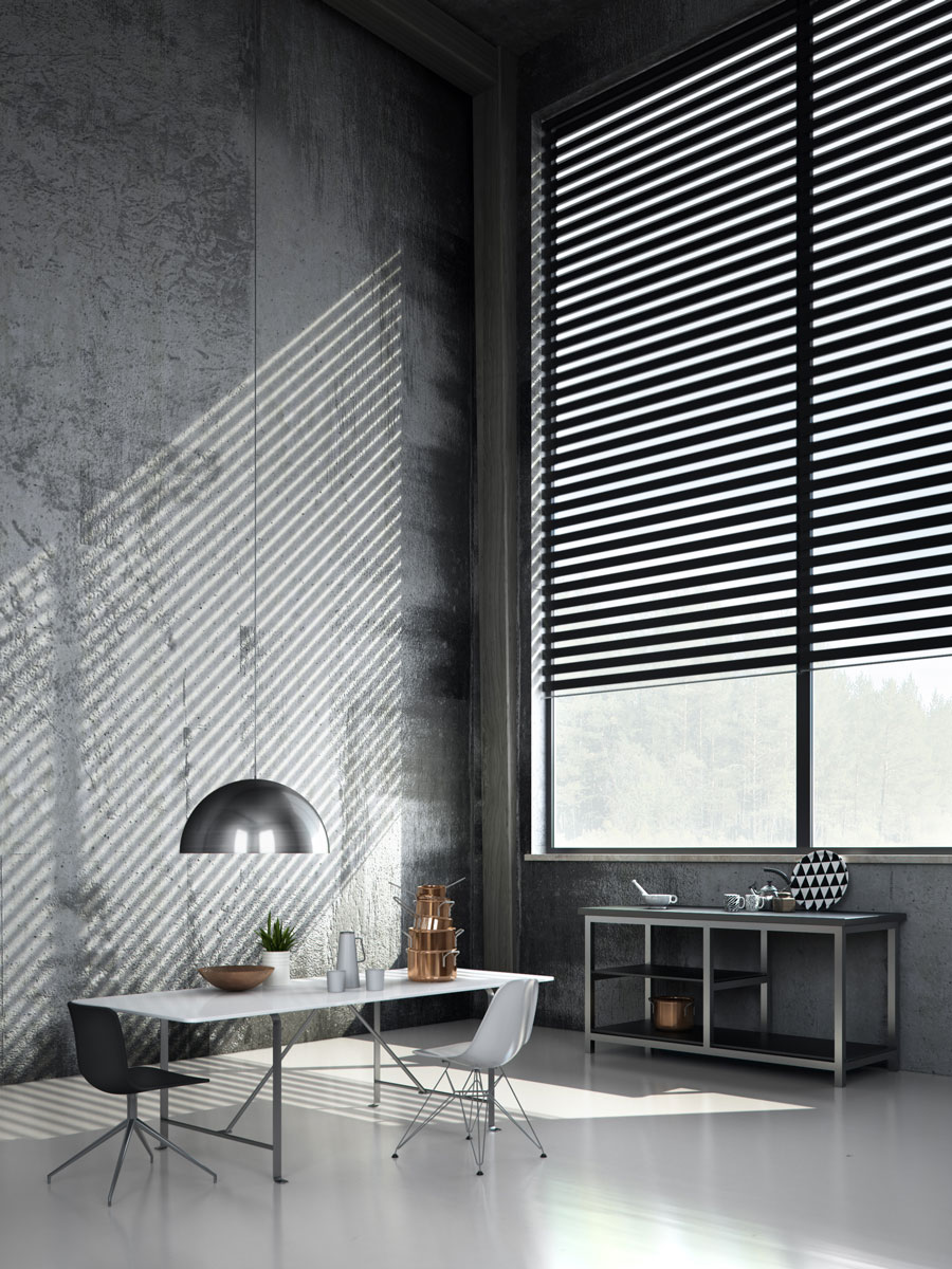 Softshade roller blinds
