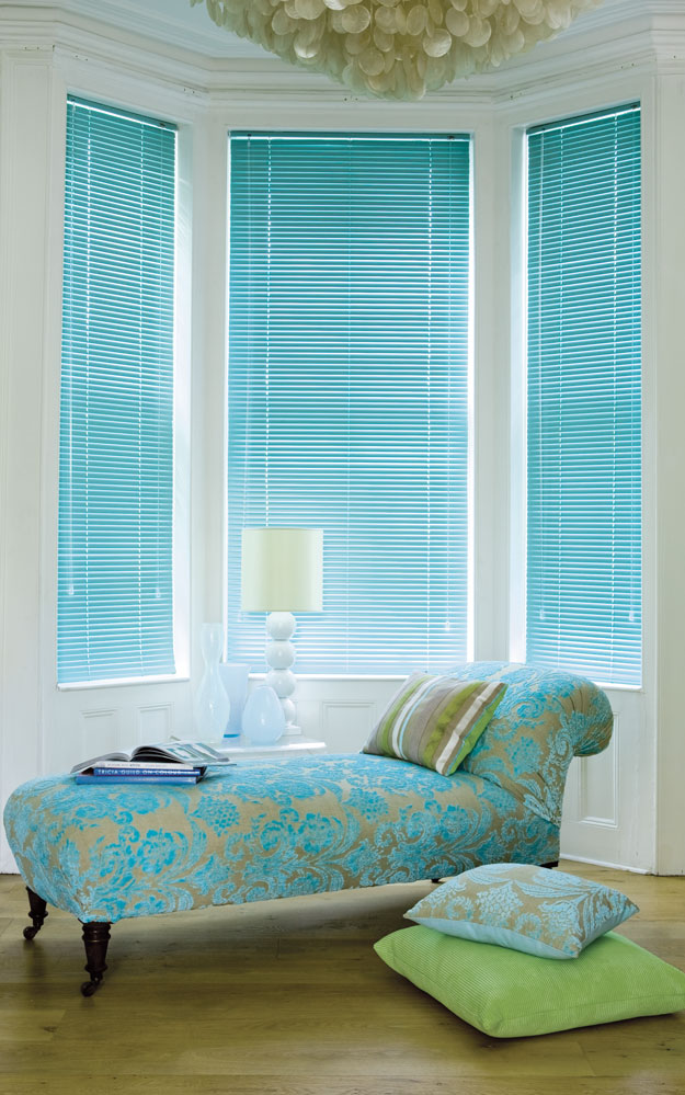 window green blinds