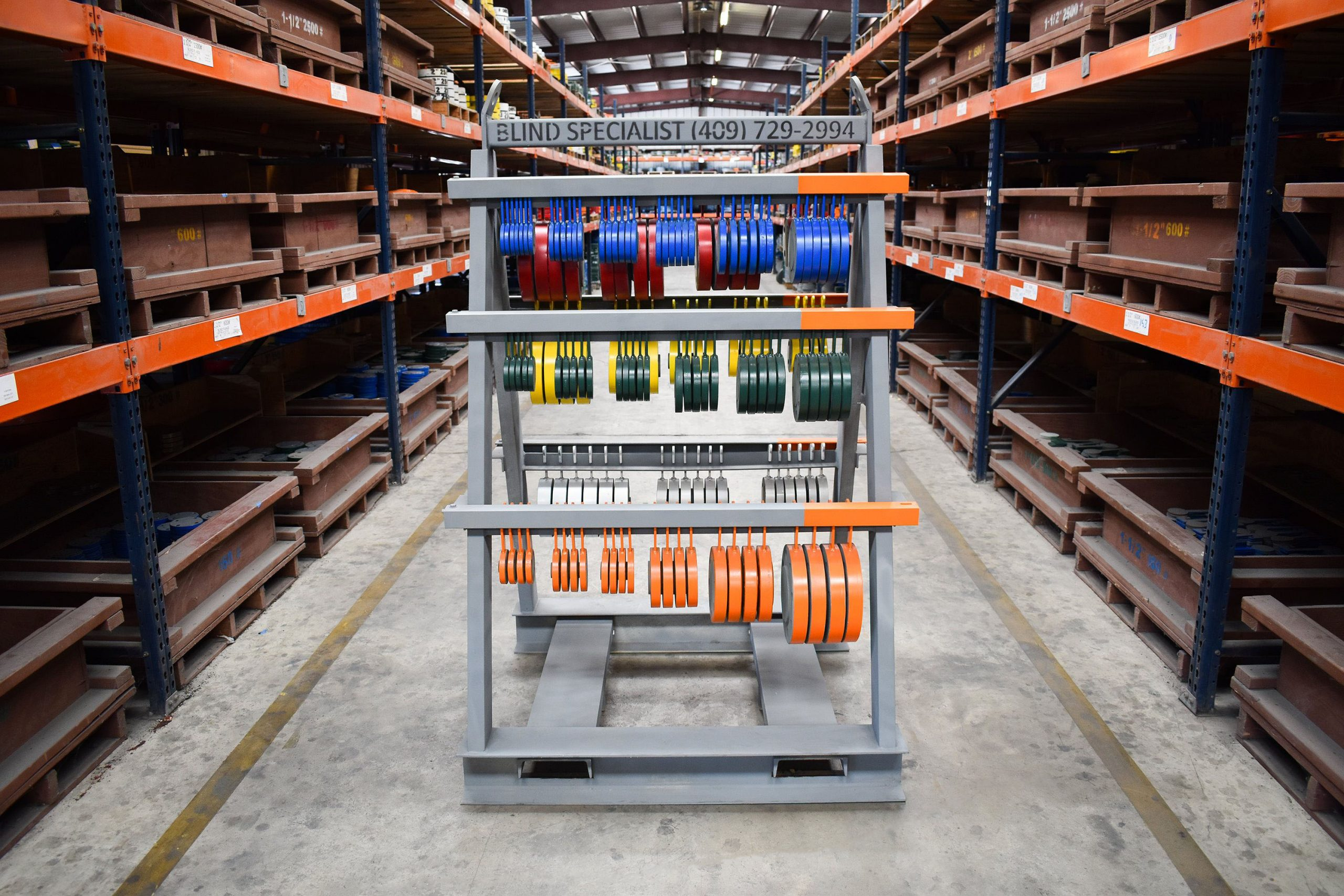 Offshore Blind Flange Storage Rack 1. Lockable Rack Blind Specialist Rents And Manufactures Industrial Blinds