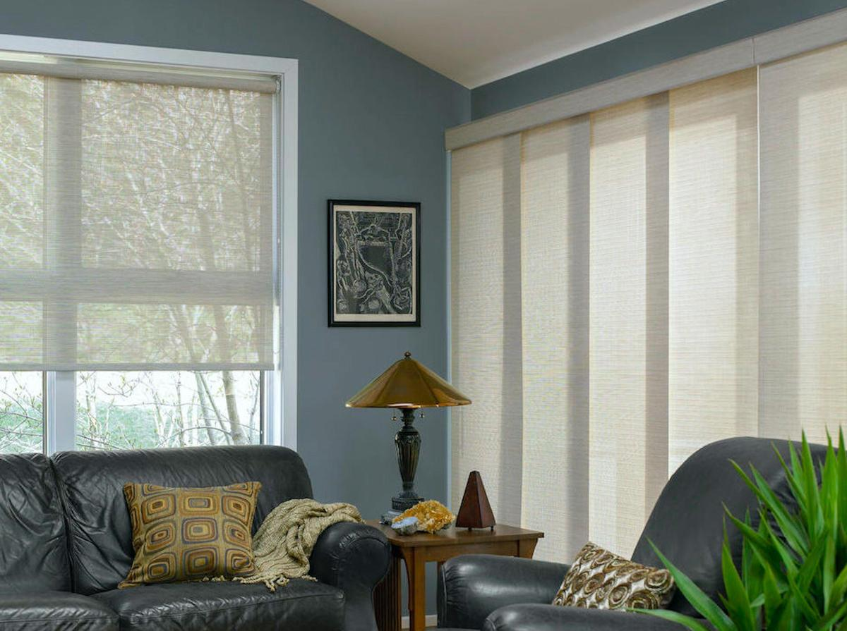 panel track blinds shades blinds to go