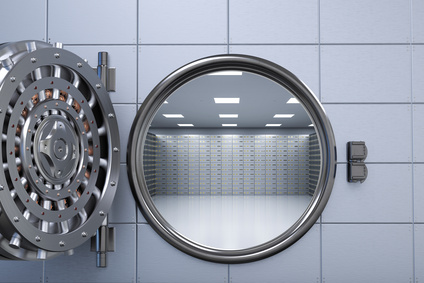 Image of an open vault door representing the CSRF vulnerability in ASP.NET Antiforgery