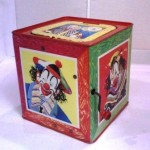 1950s Mattel Jack In The Music Box toy