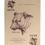 Pit Card Game by Parker Brothers - Bear card