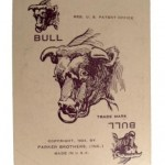 Pit Card Game by Parker Brothers - Bull card