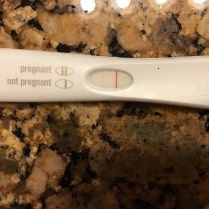 First pregnancy test! Just 5 days after FET.