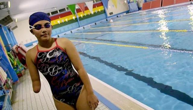 東京殘疾奧運會:高中女飛魚岡部步乃佳的金牌夢