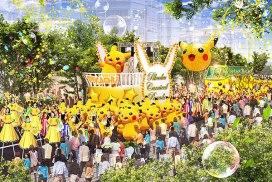 橫浜的比卡超狂歡節!