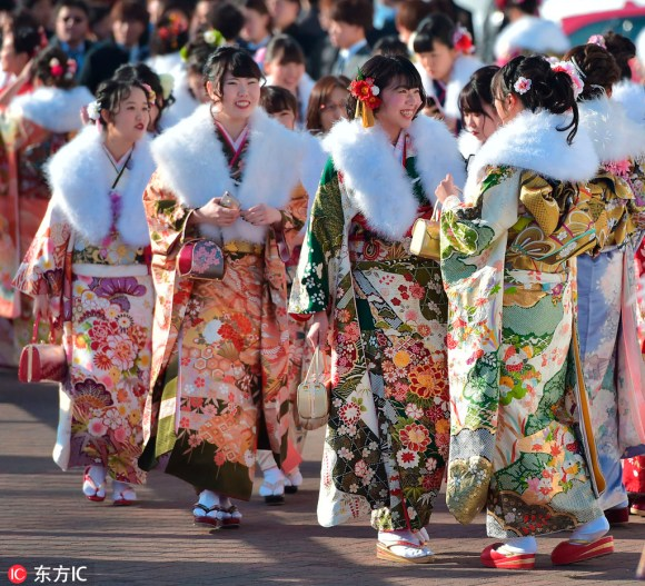 成人之日-Coming-of-Age Day in Japan
