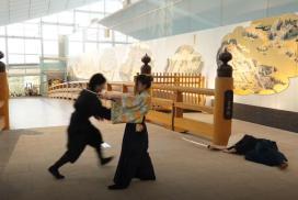 東京羽田機場真實拍攝體驗 像武士一樣對決吧!