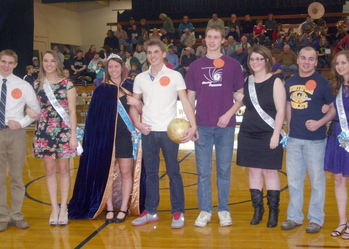 Miss and Mr. Whiteford crowned