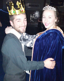 Garrett Crozier and Katie Ebersole, Mr. and Mrs. Whiteford 2015