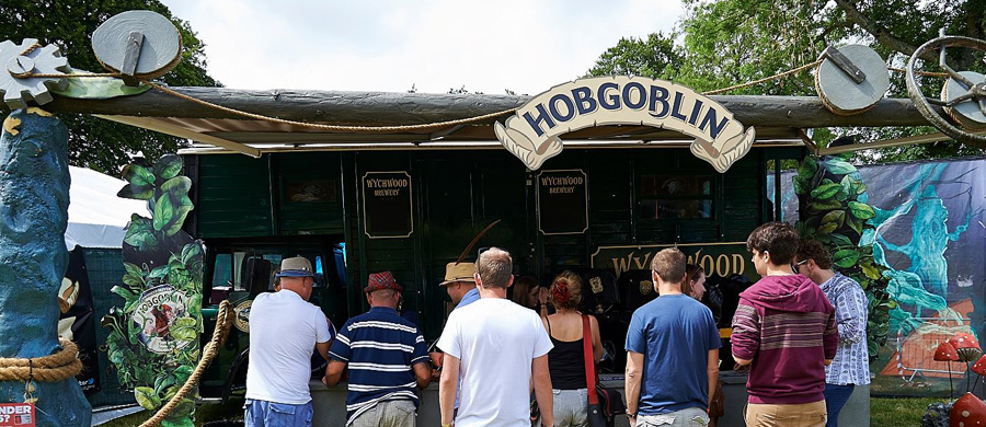 The Blissfields Hobgoblin Beer Festival