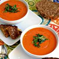 Dreamy Vegan Tomato Soup