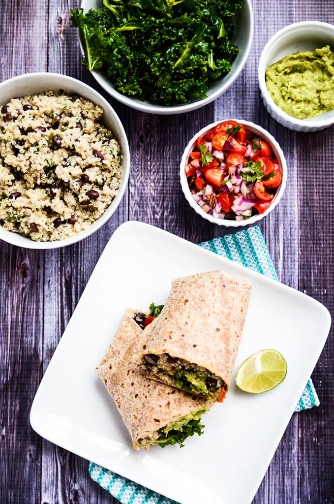 The Ultimate Vegan Protein Burrito