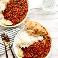 Vegan Two Lentil Dahl