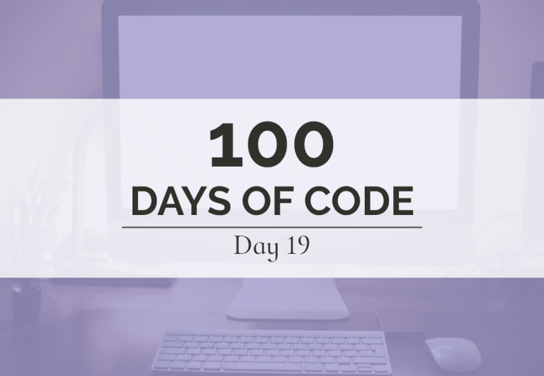 Round 1, Day 19 of 100 Days of Code was a big success with the completion of the Sparrow Photography portfolio website.