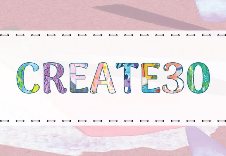 The Create30 Challenge, November 2018 - It's almost time for the Create30 November 2018 creative challenge. If you are curious about getting started, here's a quick guide including some project ideas, tips to ensure your success, and how to share your work with others. Read more about it at blissfullemon.com/create30-november-2018